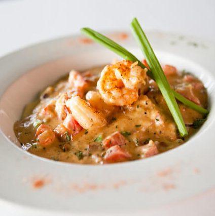 George's Shrimp & Grits
